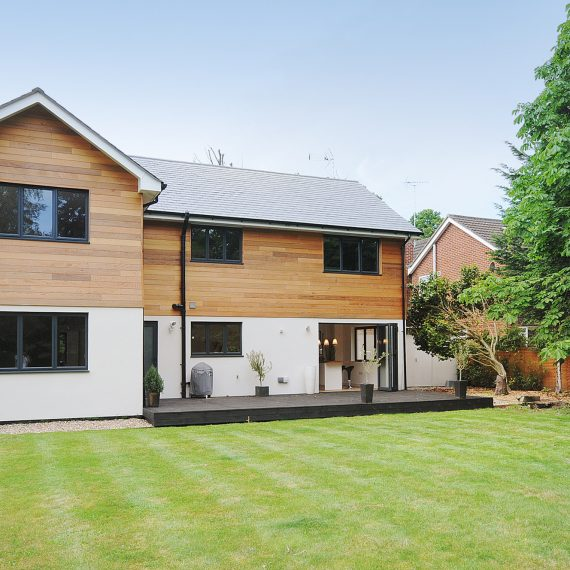 alternative to cladding for family home